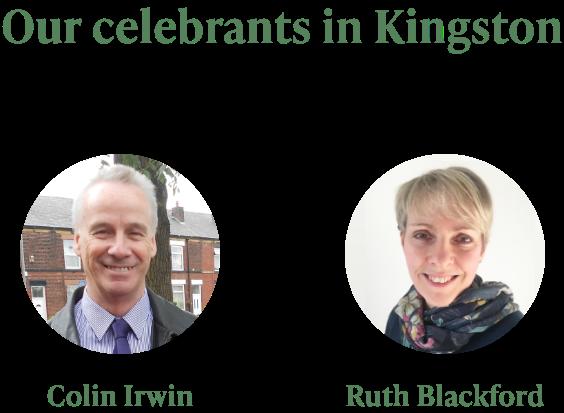 Celebrants in Kingston Upon Thames